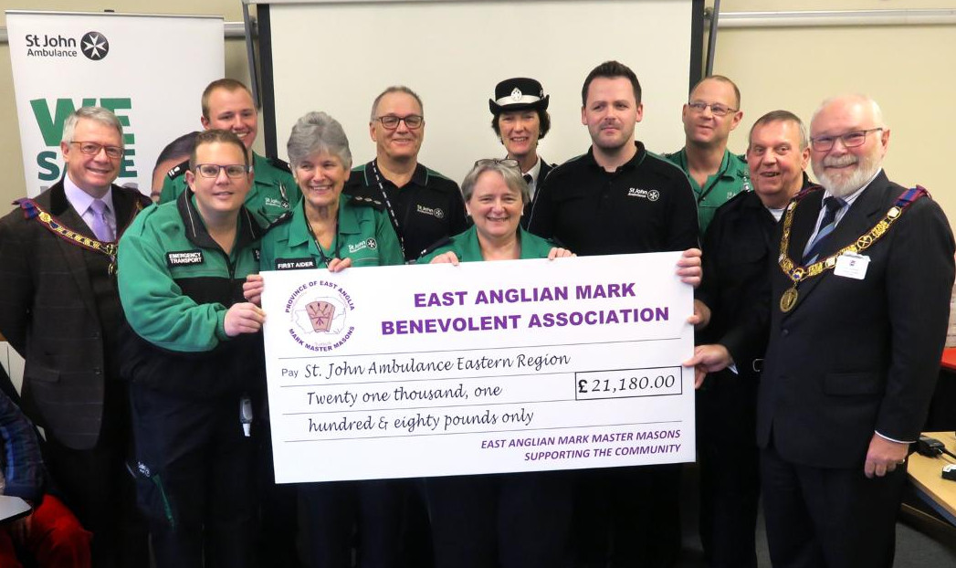 EAMBA Grant to St John Ambulance