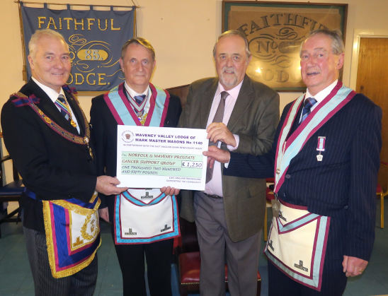 waveney valley donations